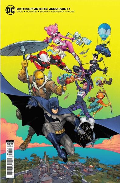 Batman/Fortnite: Zero Point - Variant Cover Image