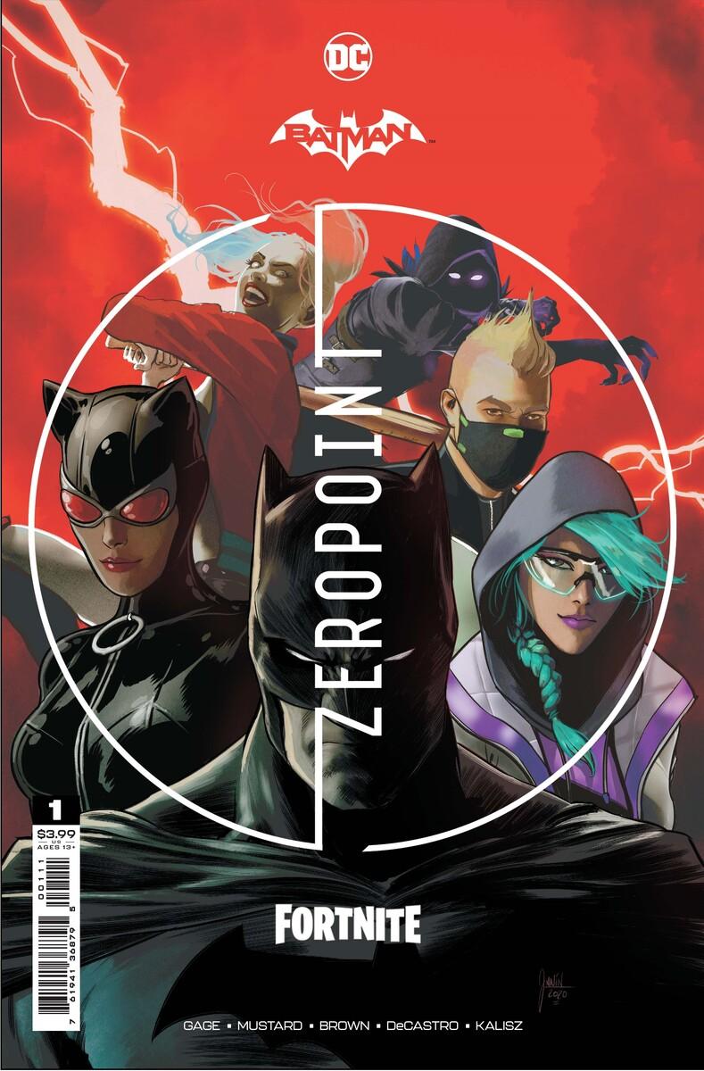 Batman/Fortnite: Zero Point - Cover Image