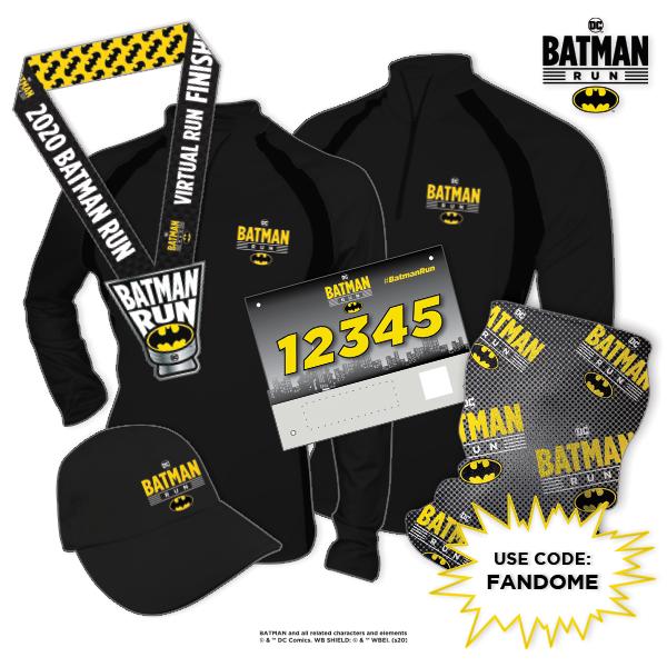 DC Batman Virtual Run - 600