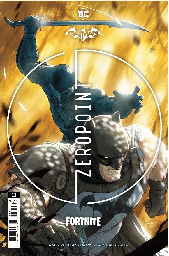 Batman/Fortnite - Zero Point #3 Preview - graphic image