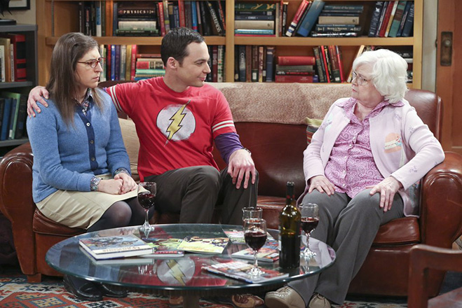 Big Bang Theory: Amy,Sheldon and MeeMaw