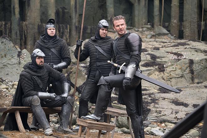David Beckham as Blackleg leader in King Arthur: Legend of the Sword