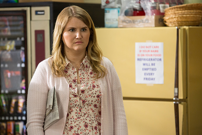 Jillian Bell stars in Fist Fight