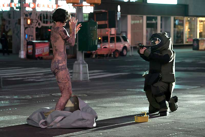 Blindspot: Season 1 - Pilot - Times Square - Jamie Alexander