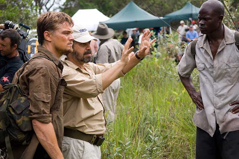 Blood Diamond - Leonardo DiCaprio, Edward Zwick, Djimon Hounsou