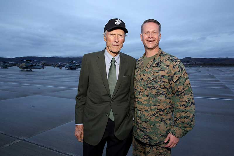 Clint Eastwood - Camp Pendleton - Colonel Tibby Anderson