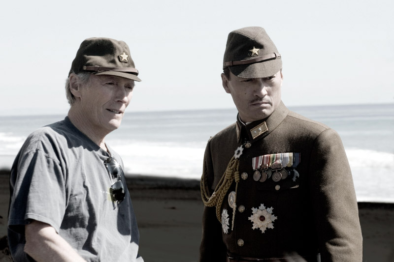 "Clint Eastwood and Ken Watanabe in ""Letters from Iwo Jiwa"""