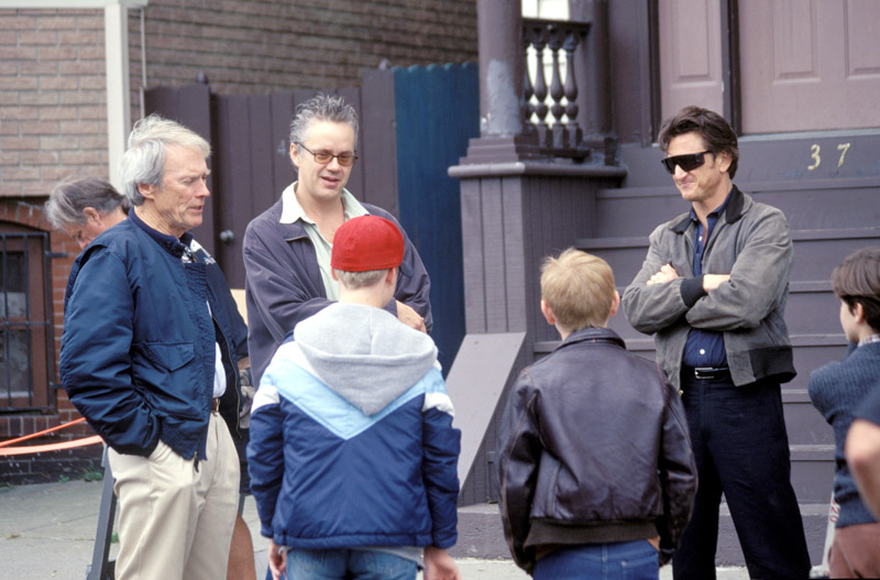 "Clint Eastwood, Sean Penn and Tim Robbins in ""Mystic River"""