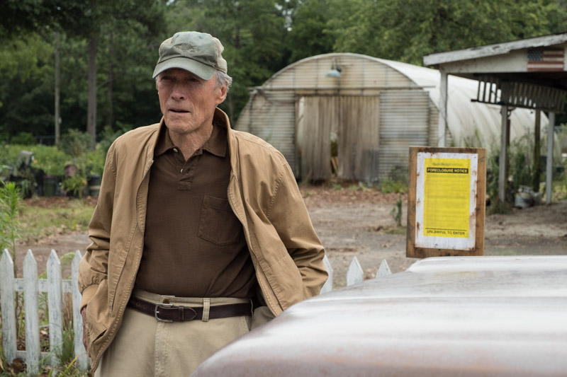 "Clint Eastwood in ""The Mule"""