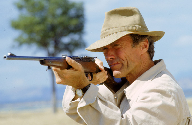"Clint Eastwood in ""White Hunter, Black Heart"""