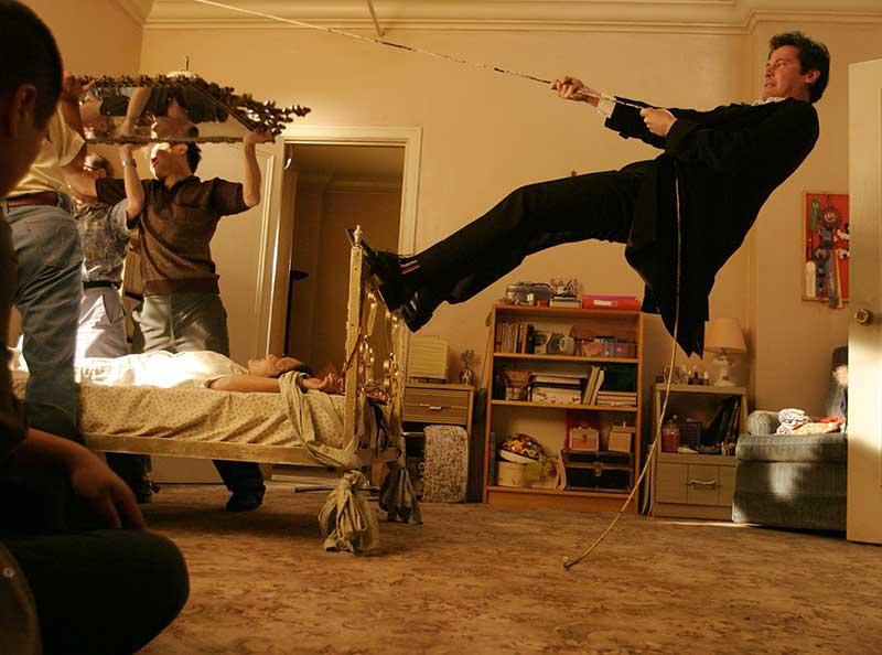 Constantine BTS 01 - Keanu Reeves