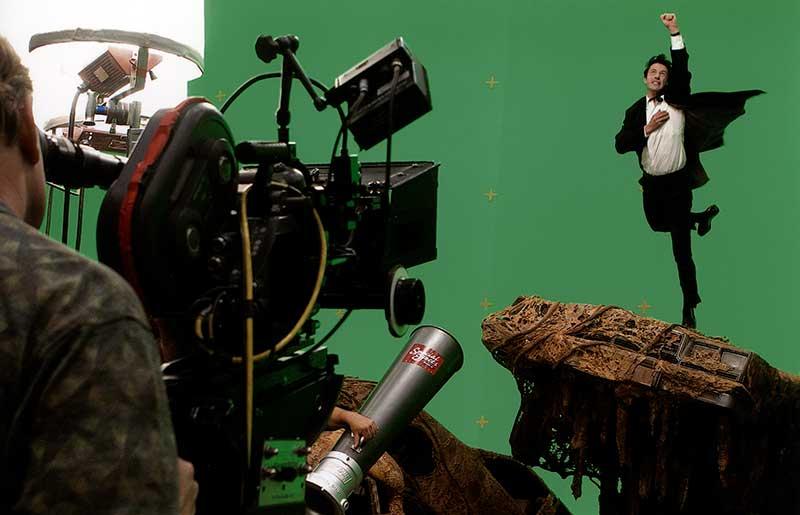 Constantine BTS - Keanu Reeves
