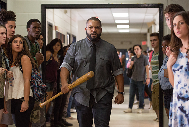 Ice Cube stalking the halls as the menacing Mr. Strickland.