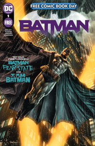 Batman Free Comic Book Day 2021 Special Edition with Batman spreading his wings