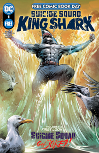 Suicide Squad Free Comic Book Day Special Edition with King Shark on the cover