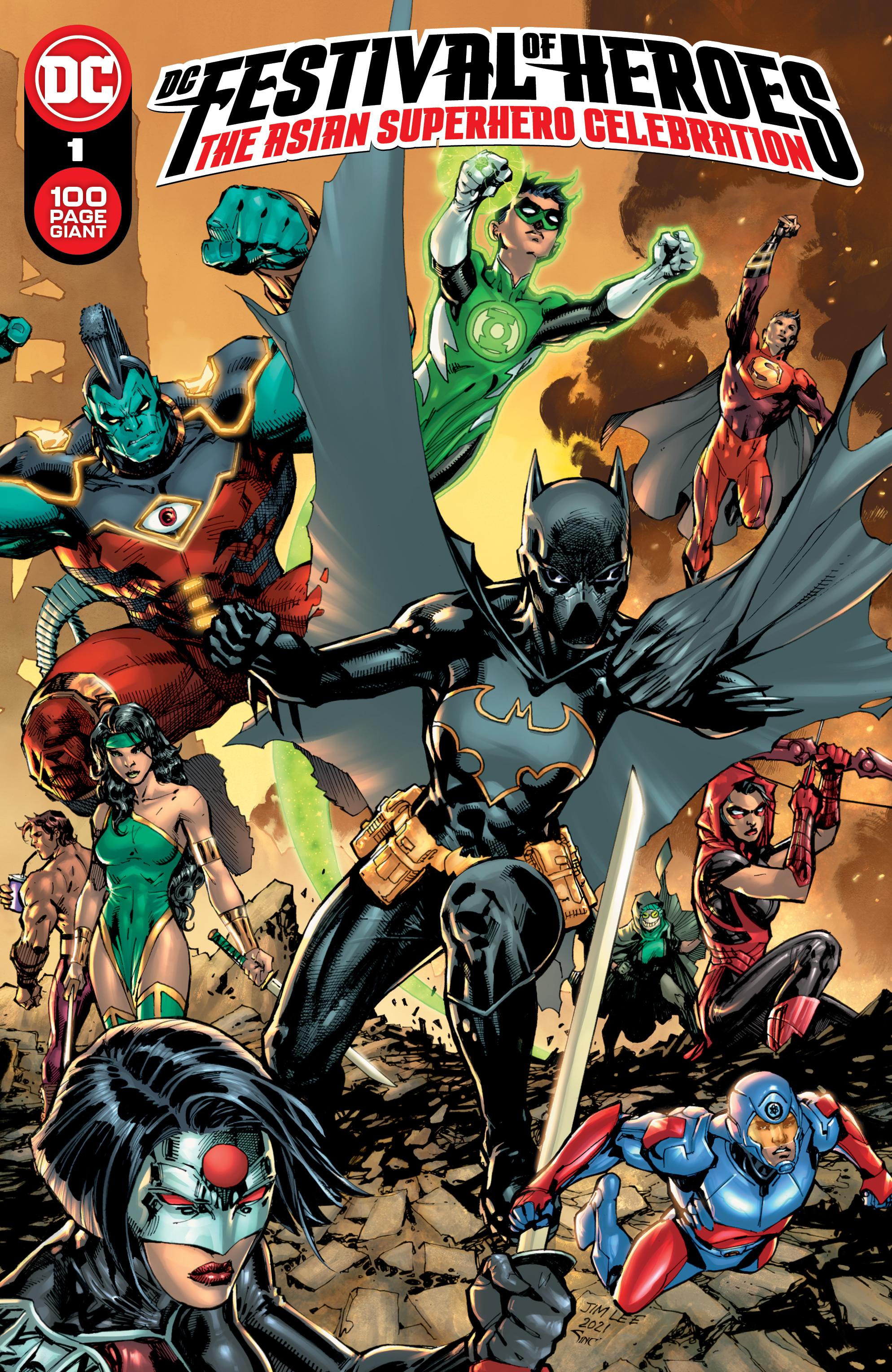 DC Festival of Heroes: The Asian Superhero Celebration - graphic image