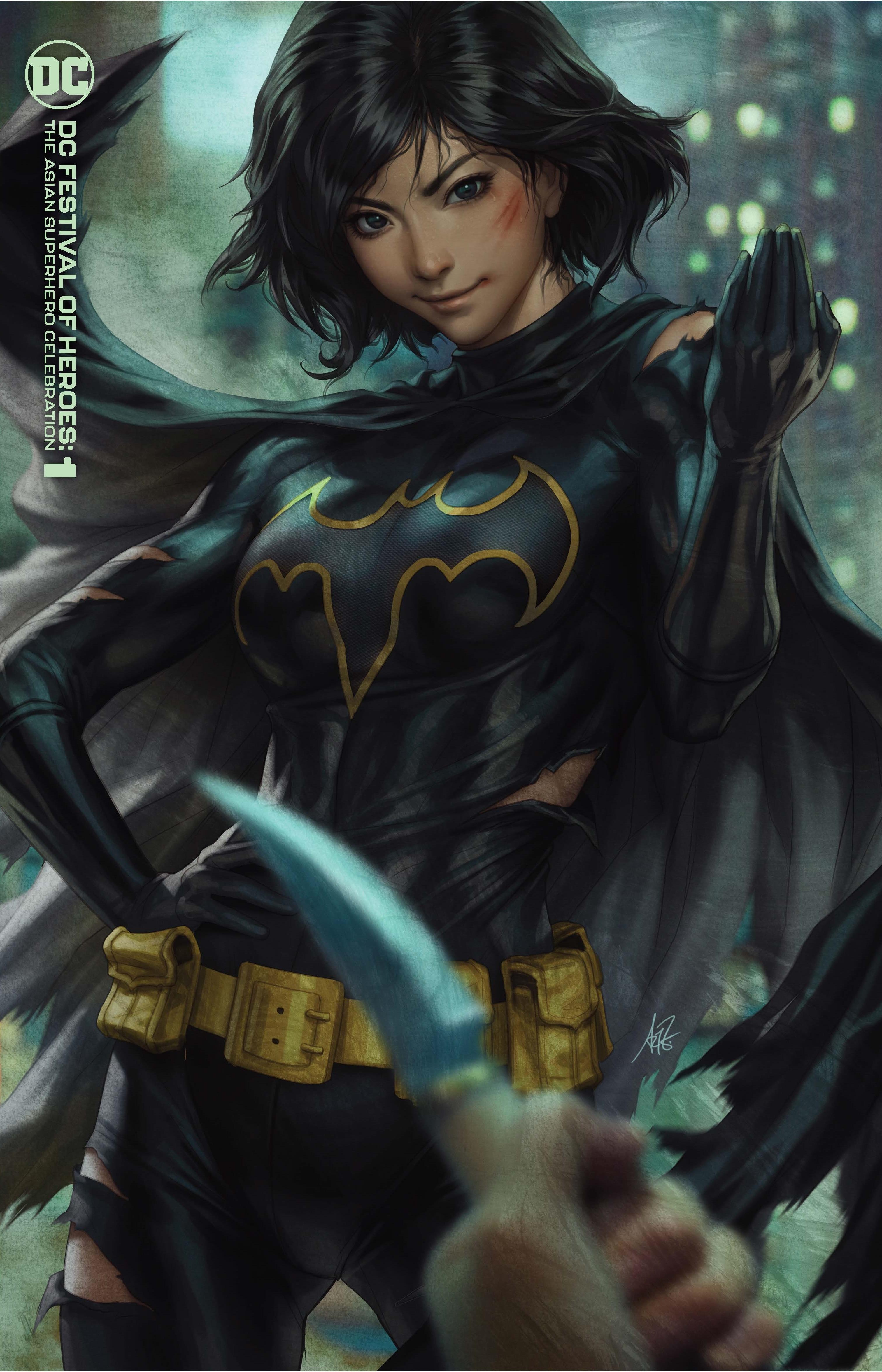 DC Festival of Heroes: The Asian Superhero Celebration - Cassandra Cain - graphic image