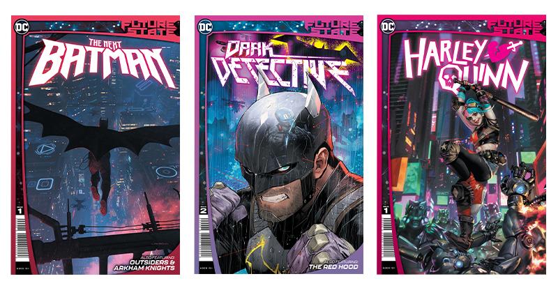 DC Future State - Batman, Dark Detective, Harley Quinn
