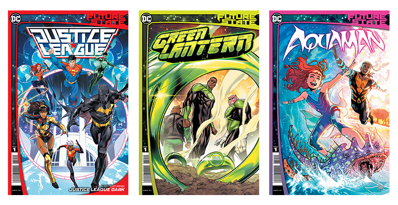 DC Future State: Justice League, Green Lantern, Aquaman