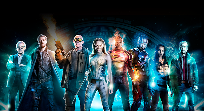 cast photo of dc's legends of tomorrow