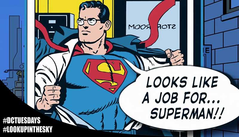 DC Tuesdays - Superman Comic Strip - Looks Like A Job For...Superman!!