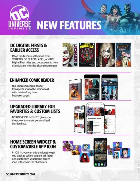 DC Universe Infinite - info