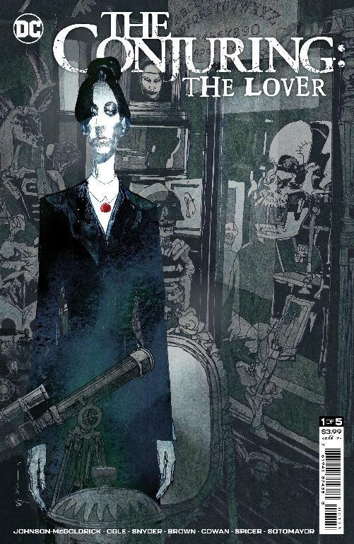 DC Horror's - The Conjuring: The Lover - cover graphic