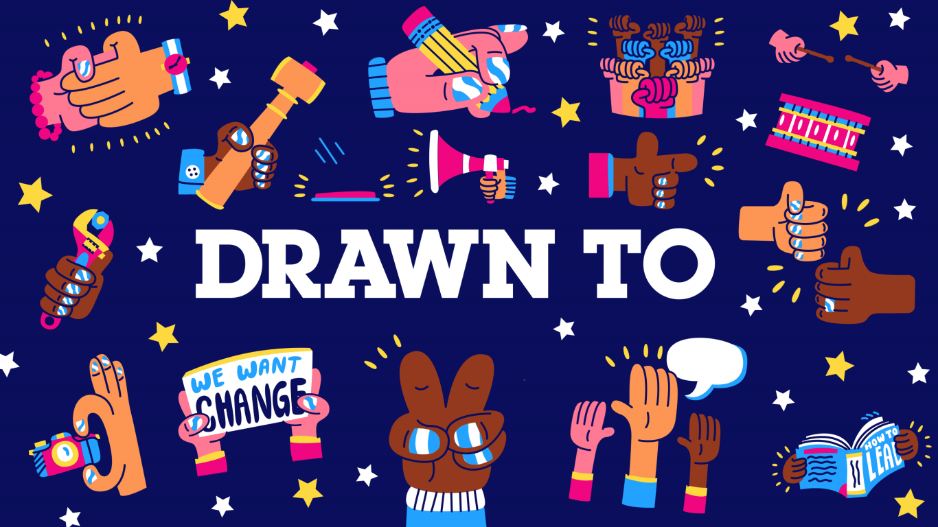 Drawn To - Title Card