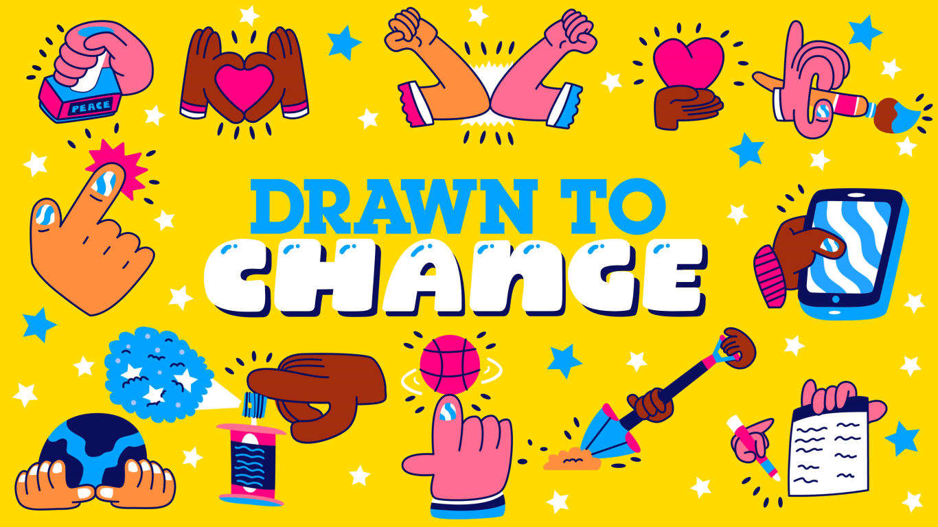 Drawn To Change - Title Card