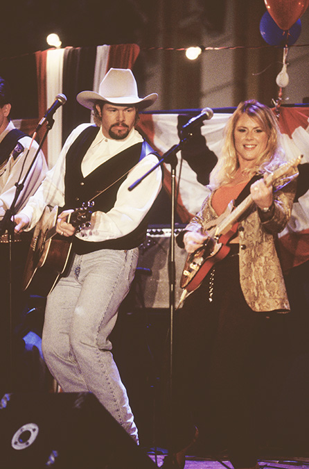 Toby Keith and Anita Cochran