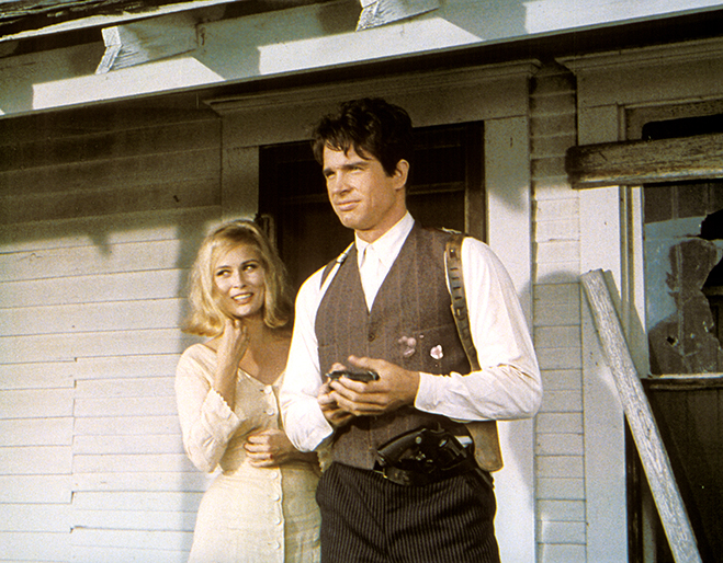 The portrayal and story of Bonnie and Clyde by Faye Dunaway and Warren Beatty eventually found huge box-office success fueled by the anti-establishment beliefs of the younger generation during the Summer of Love in 1967.