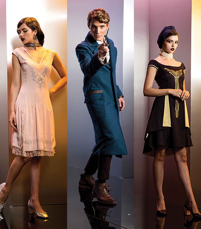 Fantastic Beasts Hot Topic fashion collection pieces