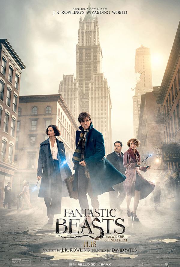 Fantastic Beasts cast poster