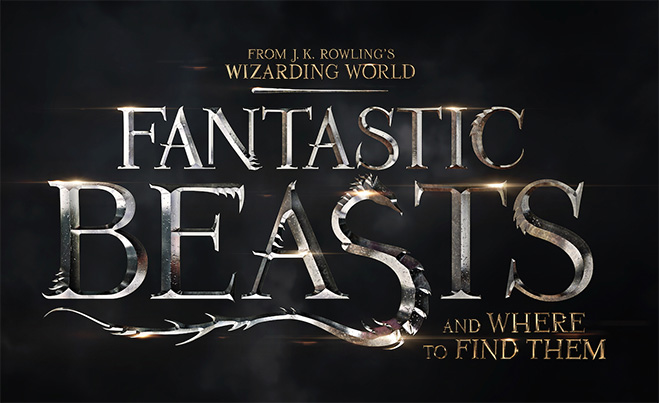 Fantastic Beasts and Where to Find Them Title Art