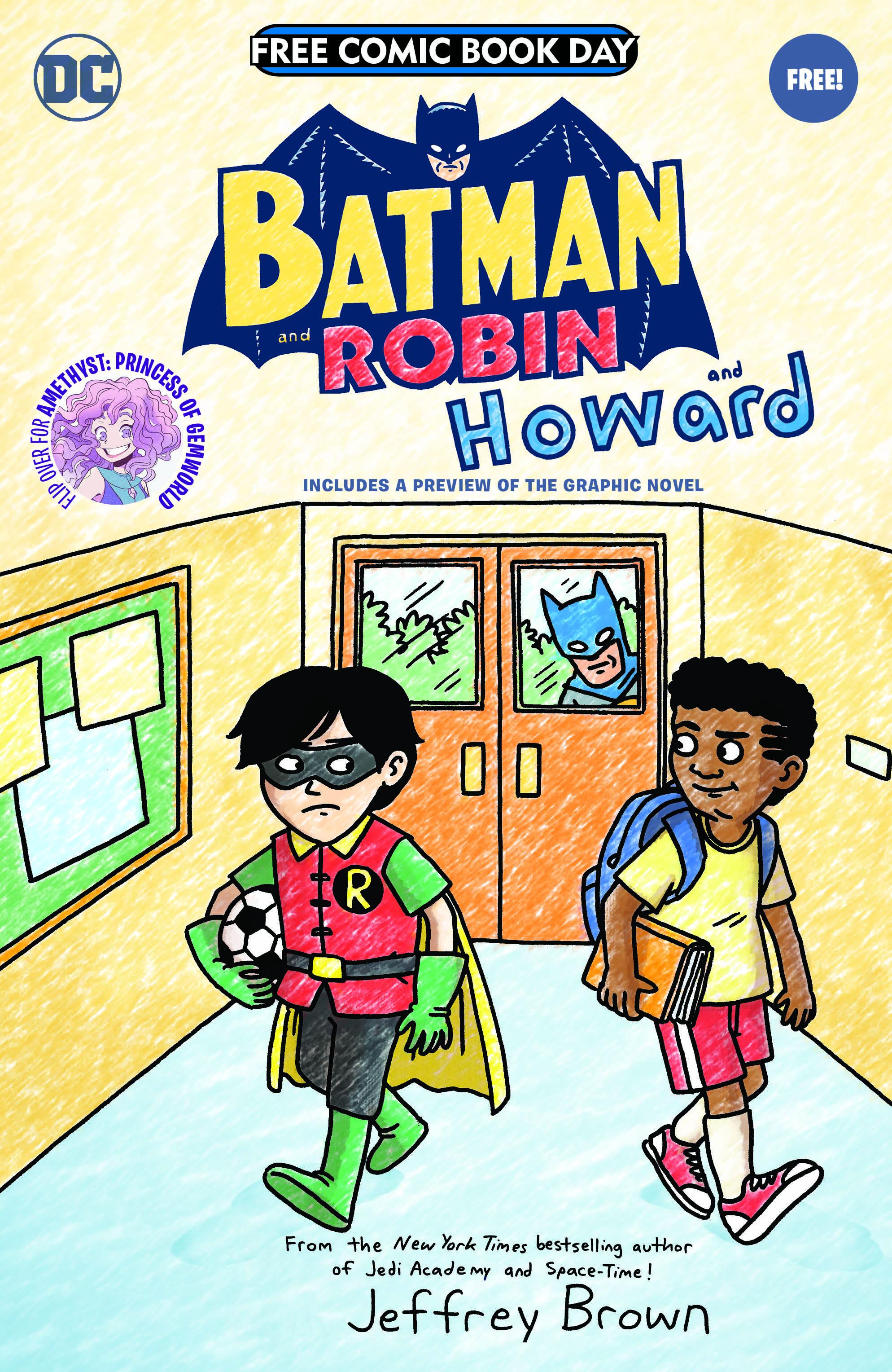 BATMAN & ROBIN AND HOWARD / AMETHYST: PRINCESS OF GEMWORLD SPECIAL EDITION FLIPBOOK