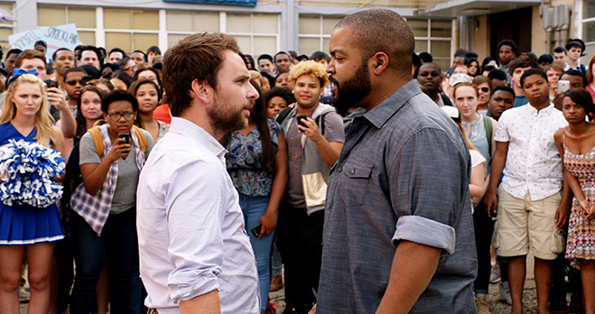 It all comes down to this: Charlie Day and Ice Cube square off for the epic Fist Fight.