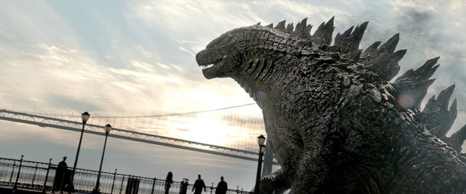 Godzilla - Golden Gate Bridge