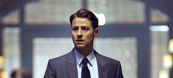 Ben McKenzie as James Gordon in Gotham