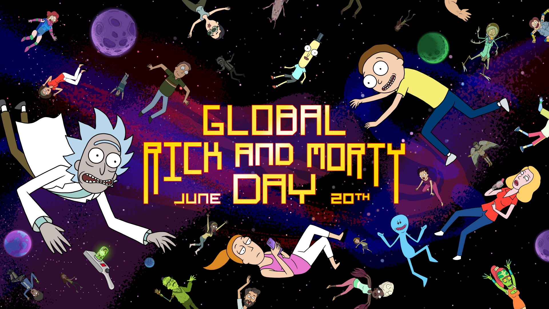 """Global """"Rick and Morty"""" Day"""