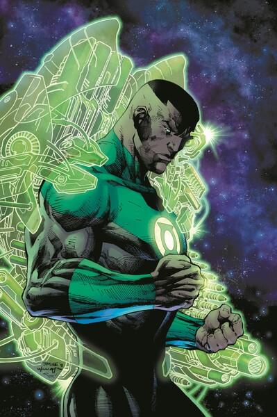 Green Lantern - John Stewart - A Celebration of 50 Years cover