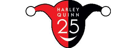 Harley Quinn 25 logo