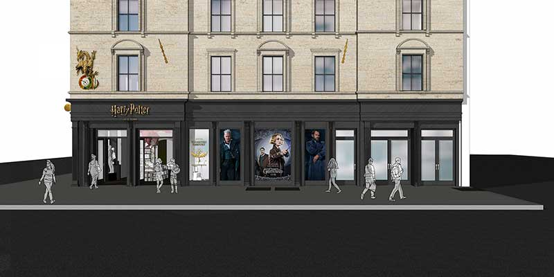 Harry Potter New York Flagship - Concept 1