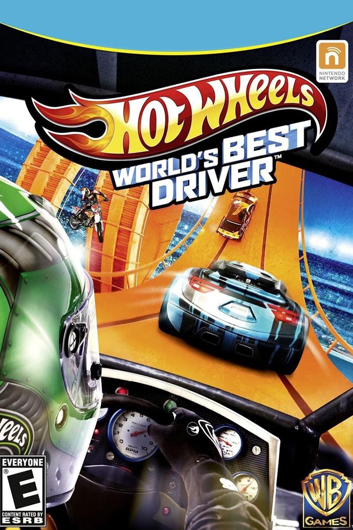 Hot Wheels: World's Best Driver keyart