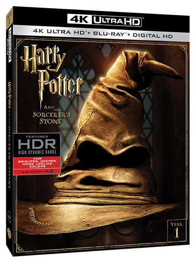 harry potter and the sorcerer's stone 4k uhd poster