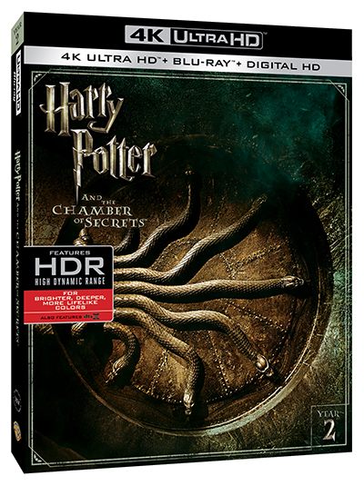 harry potter and the chamber of secrets 4k uhd poster