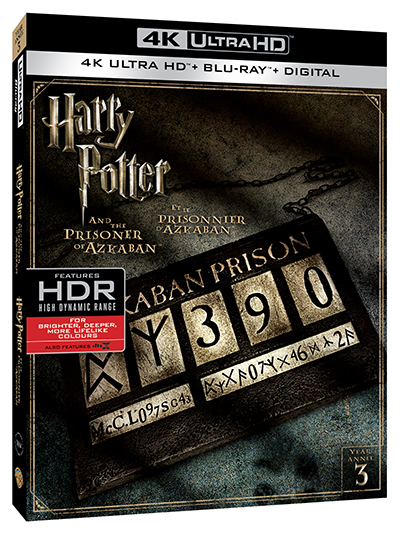 harry potter and the prisoner of azkaban 4k uhd poster