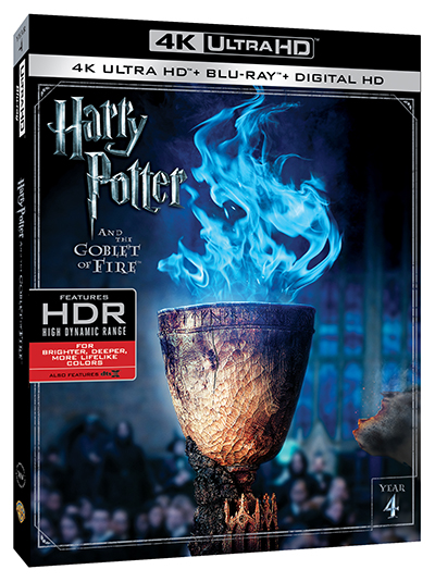harry potter and the goblet of fire 4k uhd poster