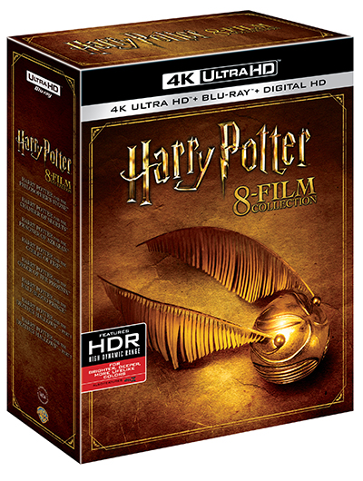 harry potter 8-film collection 4k uhd poster