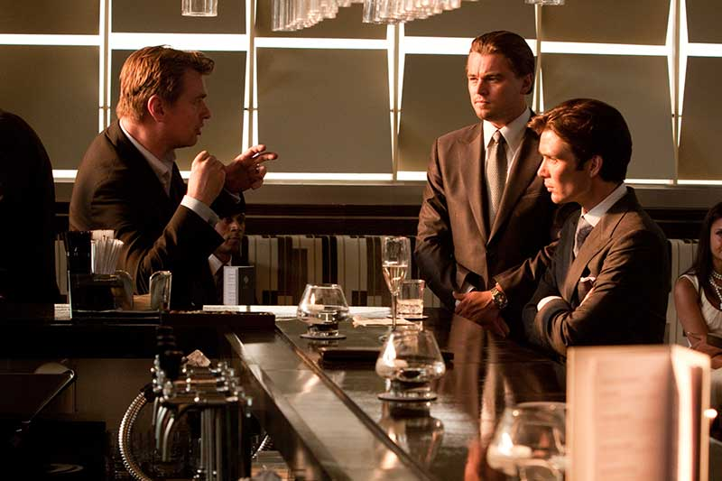 Inception - Leonardo DiCaprio, Christopher Nolan, Cillian Murphy