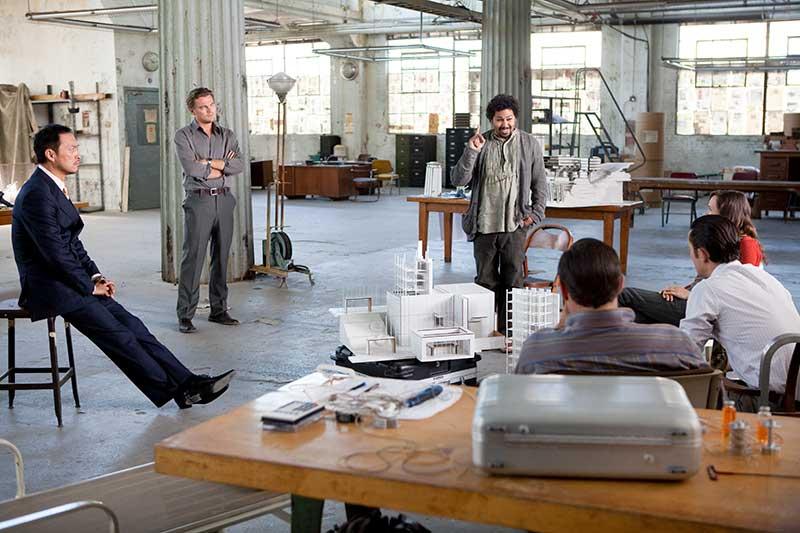 Inception - Leonardo DiCaprio, Ken Watanabem Dileep Rao, Joseph Gordon-Levitt, Ellen Page